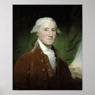 President George Washington Painting Poster