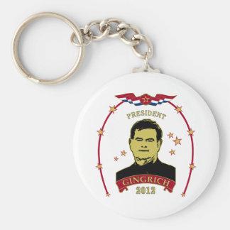 President Gingrich 2012 Key Ring