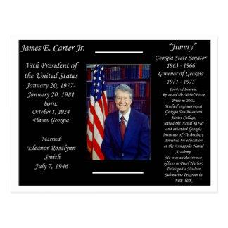 President Jimmy Carter Post Cards