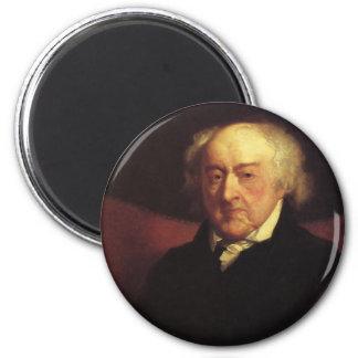 President John Adams magnets