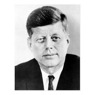 President John F Kennedy Portrait Postcard
