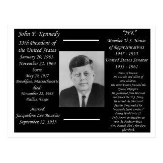 President John F Kennedy Postcard
