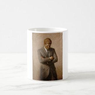 President John Kennedy - Official Portrait Coffee Mug