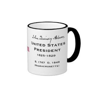 President* John Quincy Adams Mug
