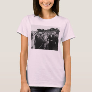 President Kennedy Greets Peace Corps Volunteers T-Shirt