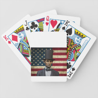 president lincoln bicycle playing cards