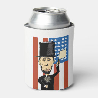 President Lincoln Custom Can Cooler