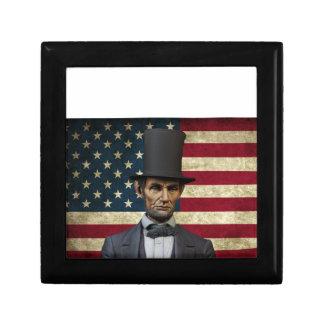 president lincoln gift box
