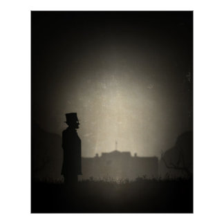 President Lincoln in Limbo Poster