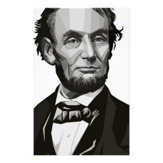 President Lincoln Stationery Paper
