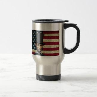 president lincoln travel mug