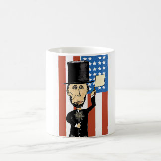 President Lincoln White 11 oz Classic Mug