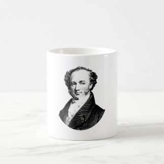 President Martin Van Buren Graphic Coffee Mug