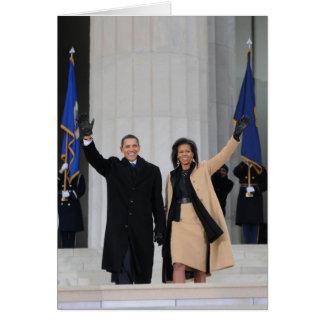President & Mrs. Obama Greeting Card