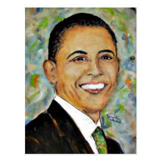 President Obama (2008) Portrait Postcard