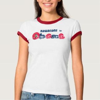 President Obama 2012 Hawaiian T-Shirt