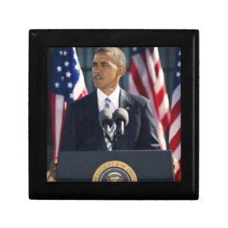 president obama 2 keepsake boxes