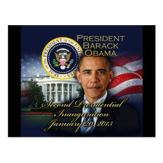 President Obama 2nd Inauguration Postcard