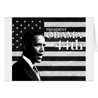 president Obama 44 gs Card