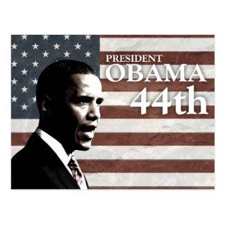 president Obama 44th - c Postcard