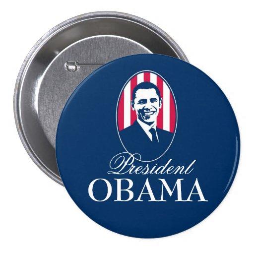 President Obama 7.5 Cm Round Badge