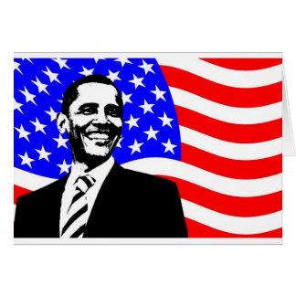 President Obama Attire Card