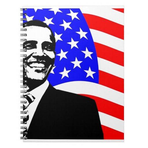 President Obama Attire Spiral Note Book