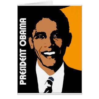 President Obama Card