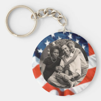 President Obama Collectibles Basic Round Button Key Ring