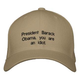 President Obama Embroidered Hat
