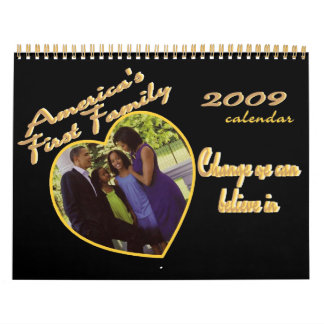PRESIDENT OBAMA Inauguration Commemorative Wall Calendars