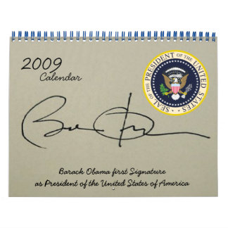 President Obama Inauguration Day in Photos Wall Calendars