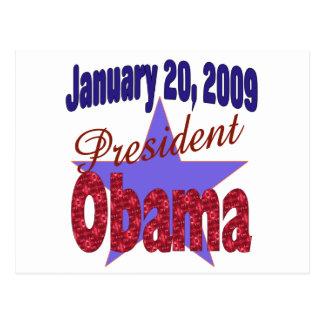 President Obama Inauguration Postcard