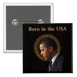 President Obama pin