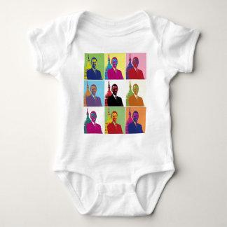 President Obama Pop Art Baby Bodysuit