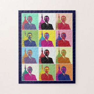 President Obama Pop Art Jigsaw Puzzle