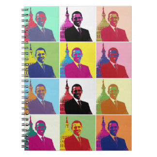 President Obama Pop Art Note Book