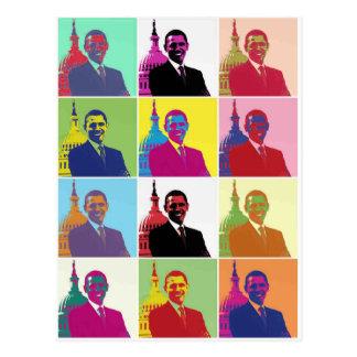 President Obama Pop Art Postcard
