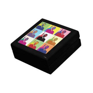 President Obama Pop Art Small Square Gift Box