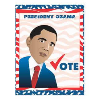 President Obama Postcard