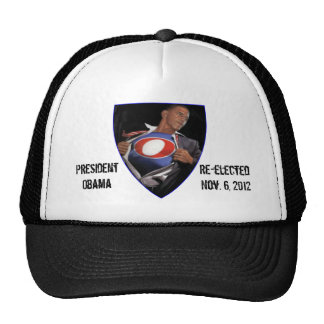 President Obama Re-elected Hat