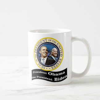President Obama Vice - President Biden Basic White Mug