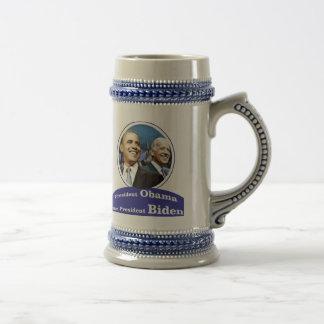 President Obama Vice President Biden Beer Steins
