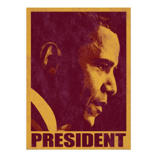 President Obama Vintage 3 Poster