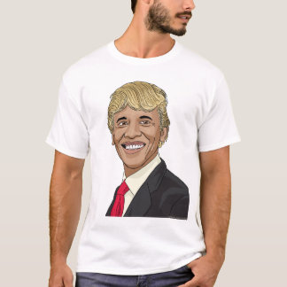 President Obama with Trump's Hair T-Shirt