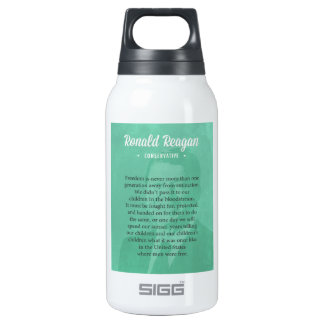 President Ronald Reagan Quote 0.3L Insulated SIGG Thermos Water Bottle