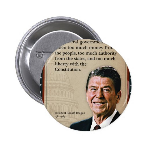 President Ronald Reagan Quote Buttons