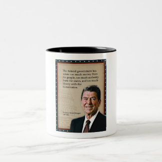 President Ronald Reagan Quote Coffee Mugs