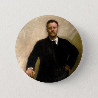President Theodore Roosevelt John Singer Sargent 6 Cm Round Badge