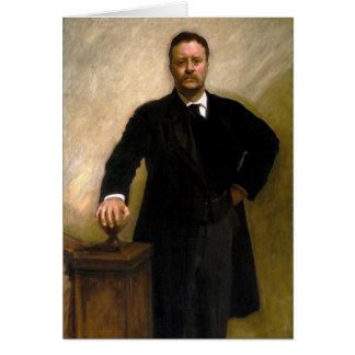 President Theodore Roosevelt John Singer Sargent Card